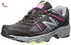 New Balance Women's WT410V4 Trail Shoe, Black/Pink, 6.5 D US - Chaussures new balance (*Partner-Link)