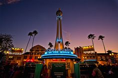 Hollywood Studios - Sunset at the Crossroads