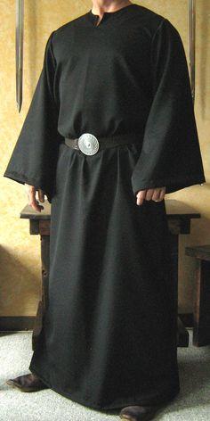 Medieval Celtic Viking Monk Wizard Robe.