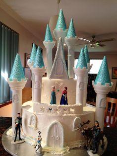 - Frozen Birthday Cake.