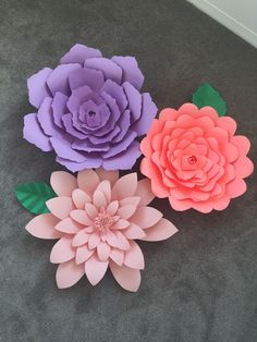 12 step by step diy papers made flower craft ideas for kids diy decorative extra large paper flower baby shower by hosscreations mightylinksfo