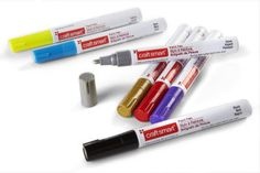 Craft Smart® Broad Line Paint Pen Great for craft projects, found at Micheal's craft stores