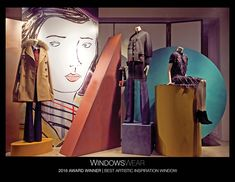 The World's Best Fashion Window Displays of 2016 | WindowsWear Awards