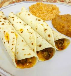 ... baked beef and cheese flautas baked beef and cheese flautas