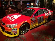 2016 #88 Axalta Chevrolet SS Paint Scheme of Dale Earnhardt Jr