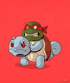squirttle/tartaruga ninja