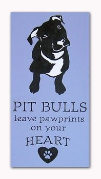 """""""Pawprints on Your Heart"""" (9 x 17) looks like my Stella!!"""
