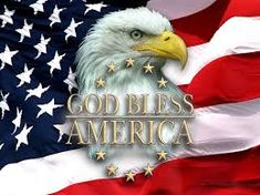 God Bless America::The American Flag and the American Bald Eagle - enduring symbols of Freedom.
