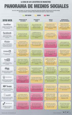 Panorama Medios Sociales