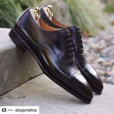 #StefanoBemerRTW Art. 6471 on J Last in dark meleze box calf • #Repost @shopmehra with @repostapp ・・・ @stefanobemer J last captoe oxford in dark meleze calf. If you're a black-only shoe guy this is what we might call an entry level shade of brown. #StefanoBemer #bespoke #bespokeshoes #firenze #florence #newyork