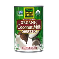 Native Forest Organic Coconut Milk In recent years, many people have gone crazy for coconut milk—and it appears to be for good reason. As a substitute for dairy, coconut milk is lactose-free, which allows the millions with allergies or those following a vegan diet the chance to enjoy an alternative that has a very similar texture.
