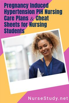 PIH is the occurrence of hypertension during pregnancy.     FREE NCLEX Study Guide Cheat Sheets for Nursing Students including Nursing Notes and Nursing Care Plans. Nursing Study Tips, Nursing Care Plan, Nursing Diagnosis, Icu Nursing, Nursing Student Organization, Nursing School Motivation, Nursing School Notes, Nclex, Care Plans