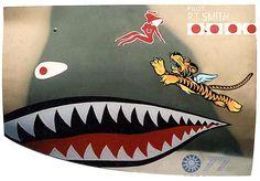"Image detail for -Gary Velasco World War II Aviation Nose Art P-40C ""R.T. Smith """