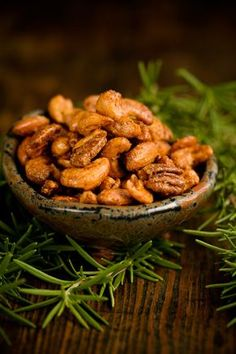 "Pinner wrote: ""Paula Deen Sugar Spice and Everything Nice Mixed Nuts- great to have in a bowl for your next visiting house guests! Nut Recipes, Snack Recipes, Cooking Recipes, Cooking Food, Easy Recipes, Kwanzaa, Chefs, Spicy Nuts, Mixed Nuts"