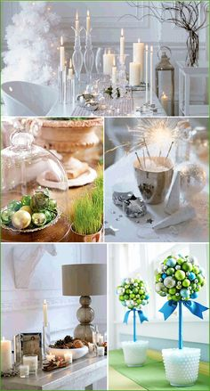 Tablescape & decor for Christmas, Holidays or New Year.