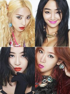SISTAR 3rd Mini Album Shake It Bora Hyorin Dasom Soyou
