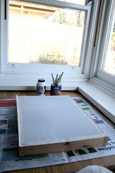 Anna Laura Art: Tutorial - Screenprinting using drawing fluid and screen filler