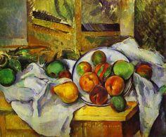 Paul Cezanne, Tavolo, tovagliolo e frutta, 1900, Barnes Foundation, Lower Merion