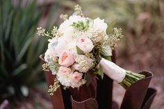 Rustic & Romantic Desert Wedding Bouquet - Piece of Cake Wedding Decor
