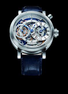 BLUE SENSATION by GRIEB & BENZINGER, GRIEB & BENZINGER Timepieces and Luxury Watches on Presentwatch
