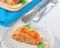 Tourte au saumon et au boursin