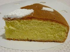 Torta Margherita al limone, senza glutine, senza grassi e senza lievito