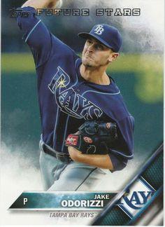 2016 Topps Baseball Series 1 Jake Odorizzi #316 Tampa Bay Rays   #Topps #TampaBayRays
