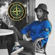 Another girl rocking Stone Island out and about Fred Perry, Stone Island Jumper, Football Casual Clothing, Stone Island Clothing, Girl Outfits, Casual Outfits, Fresh Outfits, Casual Art, Sergio Tacchini