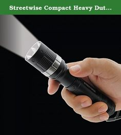 Streetwise Compact Heavy Duty Self Defense Cree LED Flashlight w/ Deployable Retractable Spikes. This powerful Streetwise Tactical LED Flashlight quickly converts to a self-defense device should the need arise! Although it looks like a normal flashlight, in seconds the top can be twisted down to reveal an intimidating personal protection product with spikes. Military Grade Aluminum: Protects the flashlight from damage so it can always be ready when you need it. Water resistant: You can…