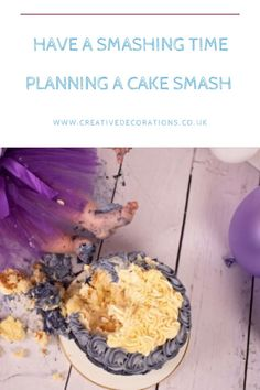 Gone are the days of just balloons and a Victoria sponge. If your baby is having a birthday, there's only one way to celebrate: with a cake smash! Beautiful Cakes, Amazing Cakes, Victoria Sponge, Cake Makers, Special Birthday, Creative Decor, Balloon Decorations, Cake Smash, Balloons