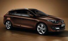 #Renault #MéganeSportour. La station wagon dalle nuove linee morbide e arrotondate che le fanno acquisire maggiore eleganza.