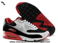 Cheap Red White Black Grey Nike Air Max 90 Hyperfuse Mens Trainers For Wholesale