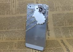 Fashion pearl iphone 5 cases  handmade  Pearl Loves  by dnnayding, $19.99