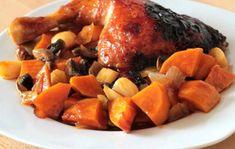 Turkey Recipes, Turkey Meals, Menu Planning, Pot Roast, Poultry, Sweet Potato, Nom Nom, Bacon, Clean Eating