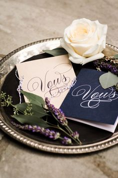 Your vows deserve special treatment! These custom vow books are the perfect touch #cedarwoodweddings Loretta+Jared :: 07.02.2016 | Cedarwood Weddings