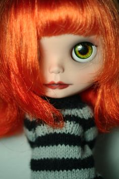 OOAK Custom Blythe Doll by Little Miss no Name