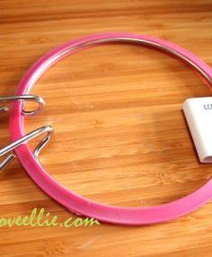 pink tension hoop available from loveellie.com @LoveEllieBags P7055445
