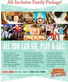 Grand Country – Branson's Waterpark Resort - Winter 2 night vacation packages from $180