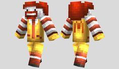Ronald McDonald Skin para Minecraft