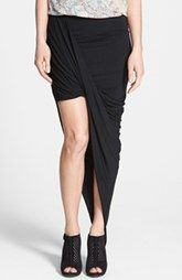 Dirty Ballerina Asymmetrical Twist Body-Con Skirt