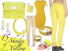 Trendy Tuesday : 15 Shades of Yellow  www.stylecartel.com
