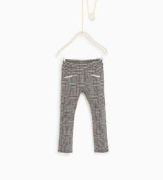 Bilde 1 fra Rutet bukse fra Zara
