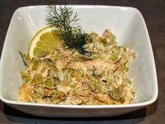 Salmon-potato cakes with spicy sundried tomato-yogurt sauce | Food ...