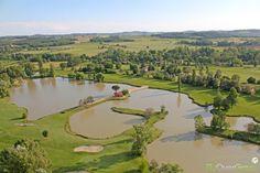 Golf des Etangs de Fiac, Tarn, Occitanie, France. Vidéo aérienne sur FlyOverGreen / Aerial video on FlyOverGreen