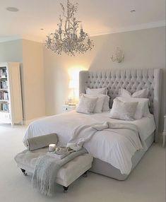 54 Modern Bedroom Design Trends and Ideas in 2019 Part bedroom ideas; bedroom ideas for small room; Serene Bedroom, Beautiful Bedrooms, Bedroom Neutral, Warm Bedroom, Bedroom Colors, Modern Bedroom Design, Modern Decor, Contemporary Bedroom, Rustic Modern