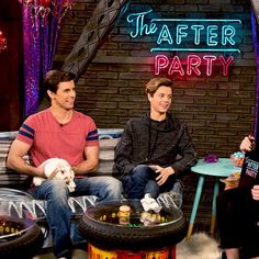 YOU GUYS! #TheAfterParty is joining forces w/ #HenryDanger #GameShakers & #NRDD for an INSANE, JAM-PACKED ep! ON @NICKELODEON, SAT @ 9:30!