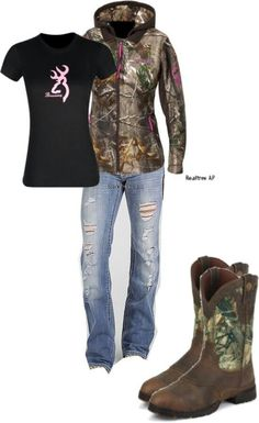Country and Camo Outfits Country Girl Outfits, Country Girl Style, Country Fashion, Country Girls, Country Life, Country Girl Clothes, Country Wear, Southern Style, Camo Outfits