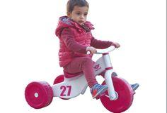 Triciclo infantil rosa Custom 3 en 1. Palau 2523, IndalChess.com Tienda de juguetes online y juegos de jardin