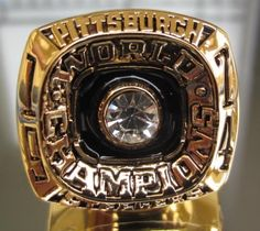 1974 Pittsburgh Steelers Super Bowl Championship Ring Football NFL Ring size 11