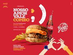 Comi na Kombi - Posts 2016 on Behance Food Graphic Design, Food Poster Design, Menu Design, Ad Design, Social Media Bar, Social Media Poster, Social Media Design, Creative Advertising, Advertising Design